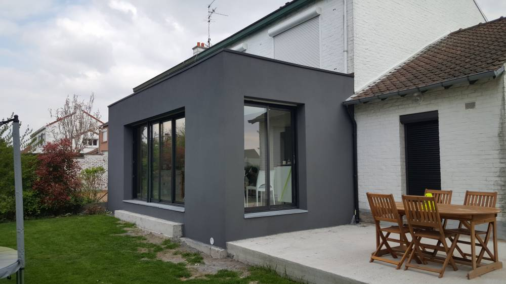 Extension Maison Nord Finest Ile De France Maison Ossature Bois Bbc
