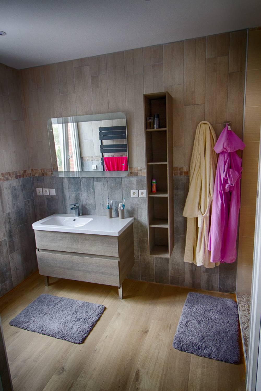 Dressing et salle de bain a wambrechies nord - M L\'extension
